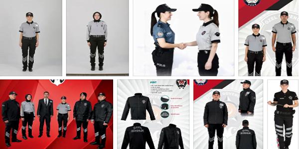yeni özel güvenlik kıyafetleri
