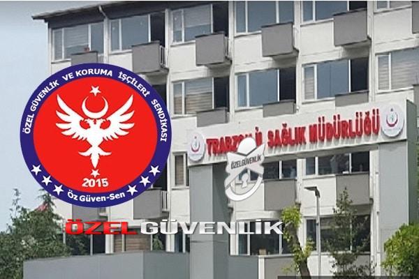 Photo of Özgüven sen sendikası 'nı Trabzon il sağlık müdürlüğü terk ediyor.