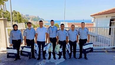 Photo of Güvenlik personeli yurt çocuklarını ziyaret ettiler
