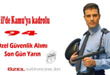 Photo of Kamu güvenlik görevlisi alımı 5 şehir 94 kişi