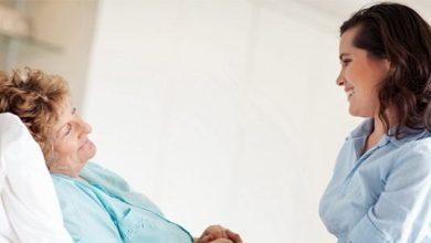 hasta ve yaşlı bakım elemanı