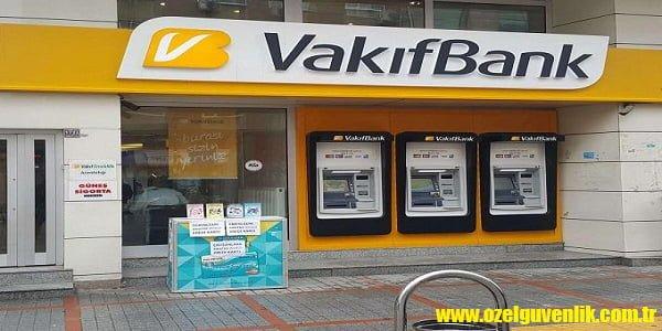 Vakıfbank güvenlik